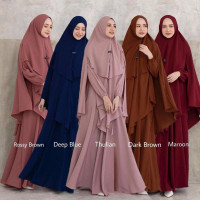 GAMIS ARAFAH BY AYUKA WINDA | FASHION MUSLIM | HIJAB WANITA | READY