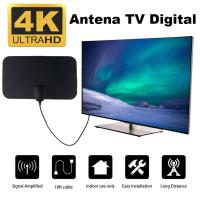 Antena TV Indoor Televisi Digital LED Antena Dinding Super Jernih