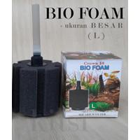 Crown Filter Bio Foam Biofoam Ukuran Large (L) Besar Aquarium Aquascap