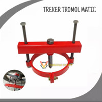 Treker roda belakang motor matic treker tromol