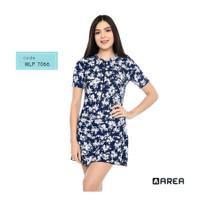 Baju Renang Wanita dewasa lengan pendek motif