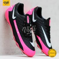 Sepatu Sepak Bola Nike Phantom GT Academy Multi-Ground Black Pink