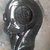 cover fan vespa 3v iget karbon kevlar