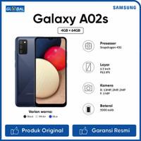 Samsung Galaxy A02S Smartphone (4/64GB) Garansi Resmi - Black