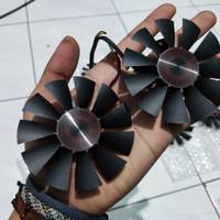 Fan Casing Asus GTX 1060 1050 960 950 750ti r9 370