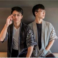outer pria / baju tenun / baju etnik