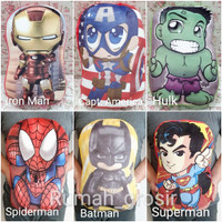 Bantal Superhero Imut