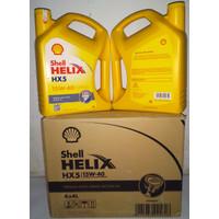 OLI MESIN MOBIL SHELL HELIX HX 5 15W-40 4 Liter