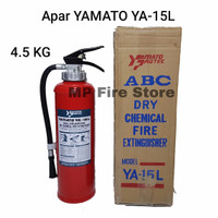 APAR YAMATO YA 15L 4.5 Kg (ABC Dry Powder) Tabung Pemadam Api YA-15L