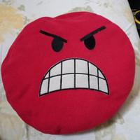 jual bantal boneka angry bird warna merah halus & lembut