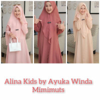 Gamis Anak Perempuan ALINA KIDS BY AYUKA WINDA | MIMIMUTS