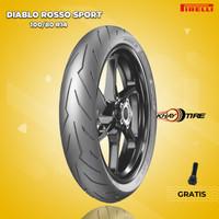 Ban Motor Matic // PIRELLI DIABLO ROSSO SPORT 100/80 R14 Tubeless