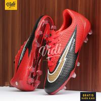 Sepatu Sepak Bola Nike Mercurial 13 Academy Black Gold - Hitam, 39