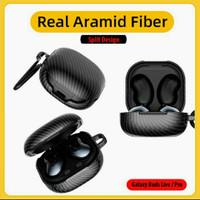 Real Aramid Carbon Slim Thin Case Samsung Galaxy Buds Live Pro