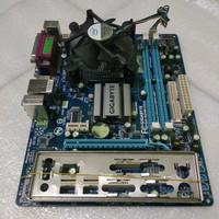 PAKET MOTHERBOARD GIGABYTE GA-G31M-ES2L DDR2 + E5200 + FAN ONBOARD