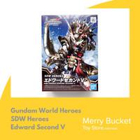 Gundam SDW Heroes Edward Second V Bandai Original Mokit Gunpla Plamo