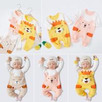 Jumper Romper Baju Kodok Terusan Bayi - Newborn Baby Jumpsuit A5-23