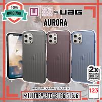 Case iPhone 12 Mini 12 Pro Max [U] by UAG Aurora Original Casing - 12 Pro / 12, Ash