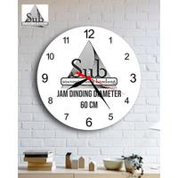 JAM DINDING CUSTOM DIAMETER 70 CM