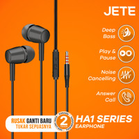 JETE HA1 Headset with audio Power and Stereo