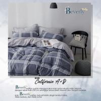 Set Bedcover Sprei Katun motif California ukuran 180x200 160x200