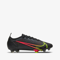 Nike Mercurial Vapor 14 Elite FG Men's Soccer Shoes - BLACK/CYBER-OFF