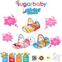 Sugar Baby All in 1 Piano Playmat Baby Piano Playgym Alas Main Bayi