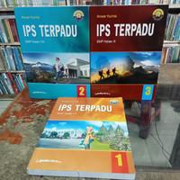 buku IPS TERPADU Yudhistira SMP kelas 7 8 9 K13 revisi