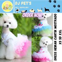 baju anjing dan baju kucing dress gaun hewan PET1045
