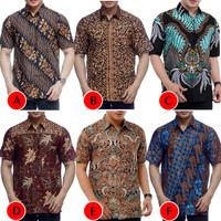 Kemeja Batik Pria Murah Lengan Pendek | Baju Batik Pria | Kemeja Pria