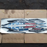 obral murah sticker stripping striping yamaha mio sporty amore blue