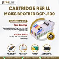Cartridge MCISS Refill Compatible Brother J100 J105 J200 J3720 Panjang