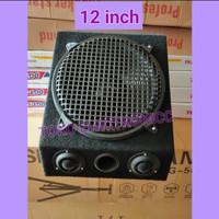 Speaker Curve Woofer 12 inch + Box + Tweeter