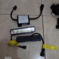lampu drl lampu led bumper bemper grill depan universal original