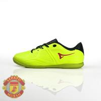 Sepatu Futsal Ardiles Volare - Hijau Citron/Merah - 34