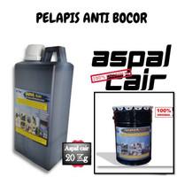 Aspal Cair Waterproofing Anti Bocor Dak Beton Lantai Tembok 20KG