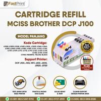 Cartridge MCISS Refill Compatible Brother J100 J105 J200 J3720 + Tinta