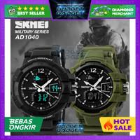 Jam Tangan SKMEI Military Men LED Watch Water Resistant 50m - AD1040