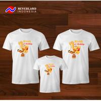Kaos Couple Keluarga | Kaos Family Ultah Karakter Winnie the Pooh