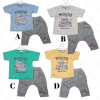 Baju Setelan Bayi Laki Laki Baju Pesta Pergi trendi bestseller L150 LG