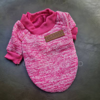 Baju Kostum Sweater Anjing Kucing Cat Dog Pet Hewan XS S M L XL XXL - Fuschia, XS