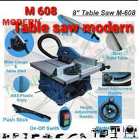 MODERN M 608 Mesin Table Saw 8 inch 200mm Mesin Gergaji Kayu