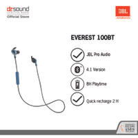 JBL Everest 110 In-Ear Wireless Bluetooth Headphones - Silver