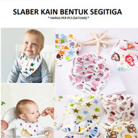 Alas Dada Bayi|Slabber Bib|Slaber Kain Baby|Celemek Anak|Kado|Lahiran
