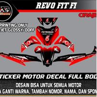 decal stiker revo fit fi full body stiker decal motor revo fit fi
