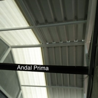 Atap Alderon White Translucent - Alderon Semi Transparant UPVC R830
