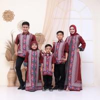 Baju Coupel Keluarga Muslim / Couple batik Family / Couple Keluarga