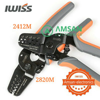 IWISS 2412M 2820M Tang Crimping JAM Molex Tyco JST 24-12 28-20 AWG