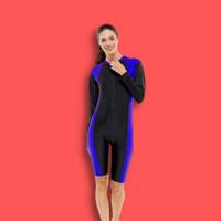 Baju renang dewasa wanita model terusan lengan panjang