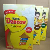 Dancow Fortigro 800gr cokelat,instan,full cream